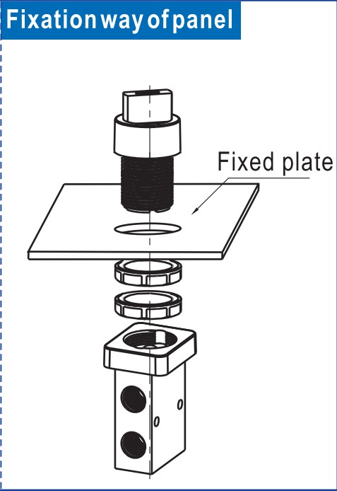 slide pneumatic manual control valve high quality turn wholesale-6