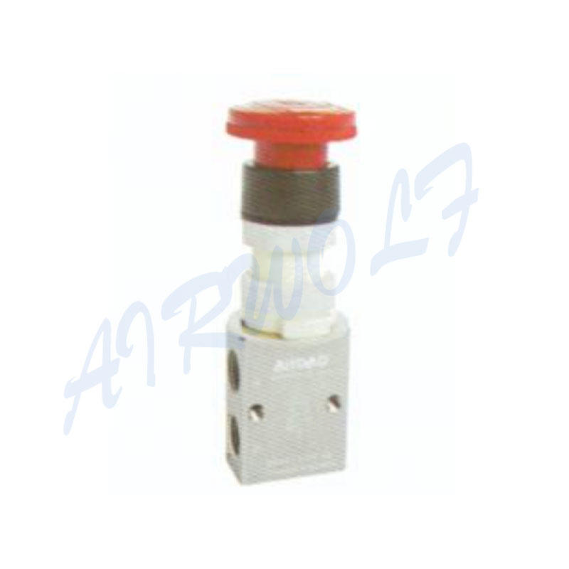 Airtac 3/2 way S3PL series Aluminum alloy PL Latching  type red  S3PL-06 1/8 control valve
