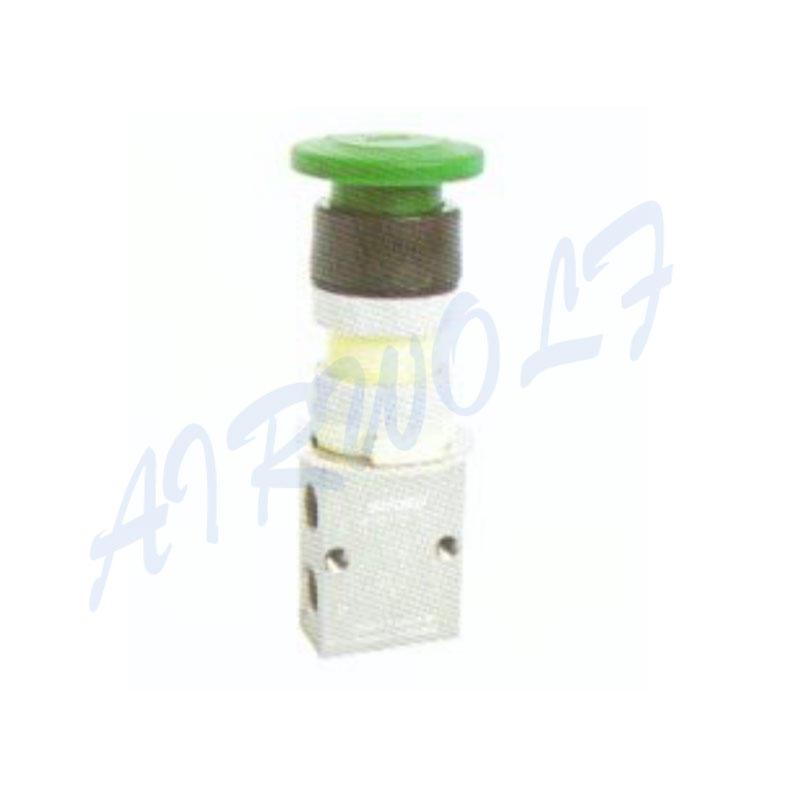 Airtac 3/2 way S3PM series Aluminum alloy PM Mushroom type S3PM-06 RC1/8 Pneumatic manual valves