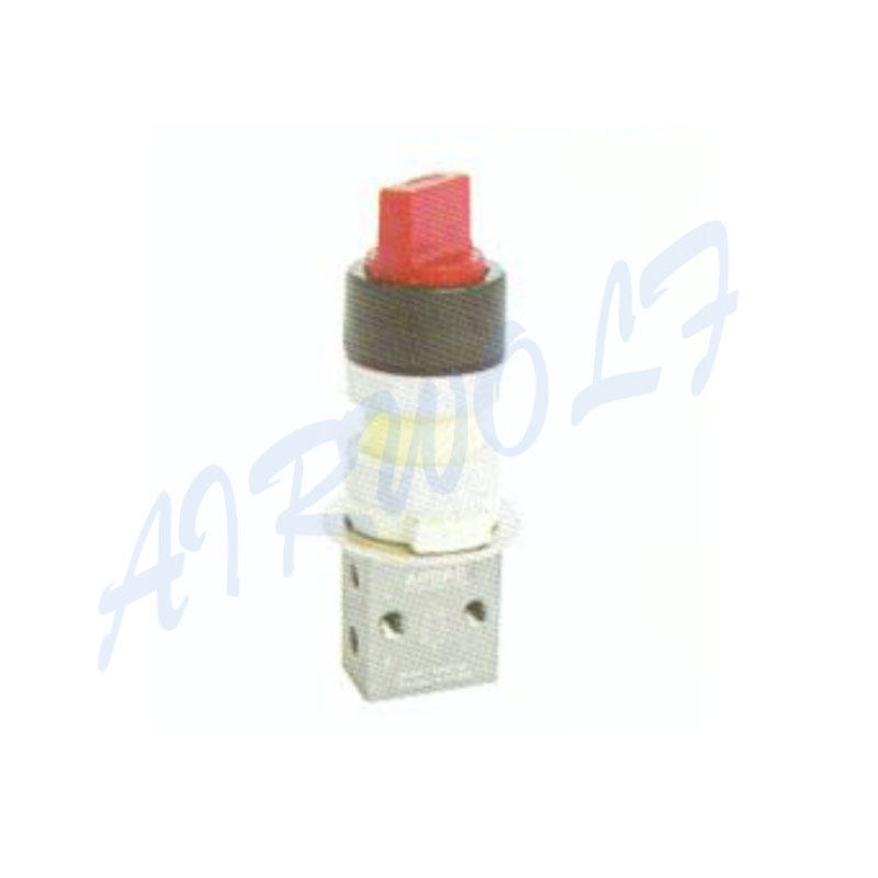 Airtac 3/2 way S3HS series Aluminum alloy V Vertical type S3HS-06 RC1/8 Pneumatic manual valves