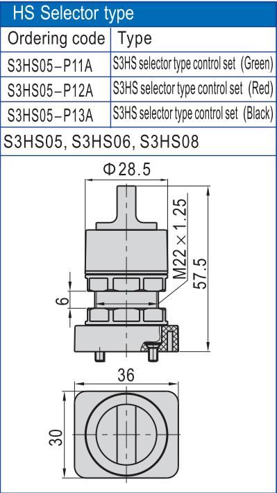 AIRWOLF mechanical pneumatic push button valve direct wholesale-6