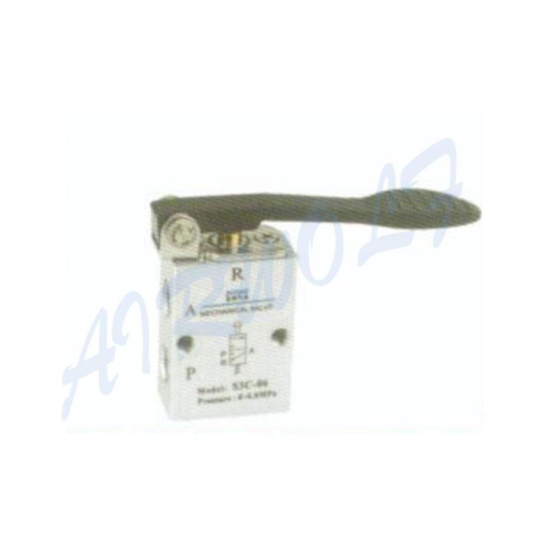 Airtac 3/2 way  Aluminum alloy C long handle type NS3C-06 1/8  NS3C-08 1/4 mechanical valve
