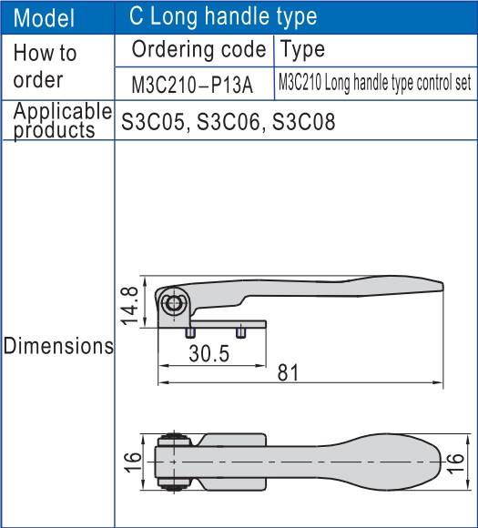 AIRWOLF slide pneumatic manual control valve hand bulk production-6