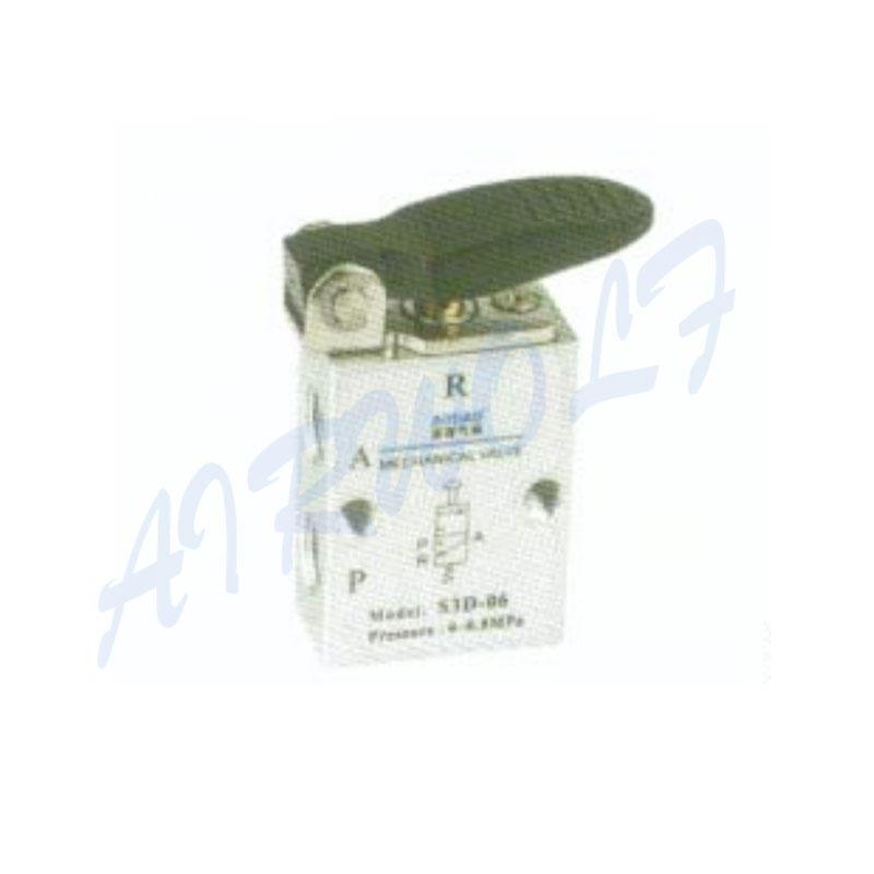 3/2 way Airtac Aluminum alloy NS3D-06 1/8  NS3D-08 1/4 D short handle type mechanical valve