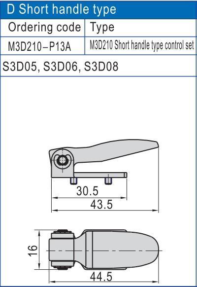 slide pneumatic manual control valve push wholesale