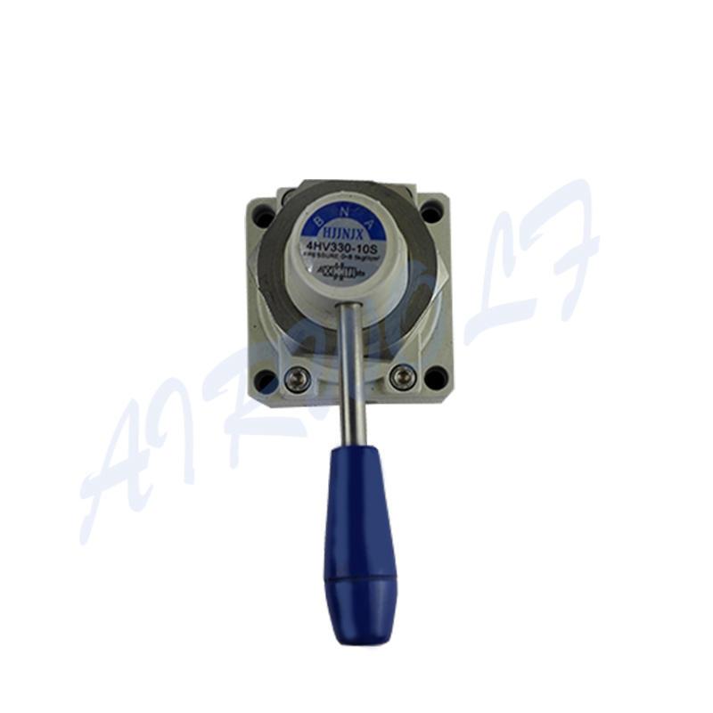 AIRWOLF cheapest price pneumatic manual control valve control bulk production