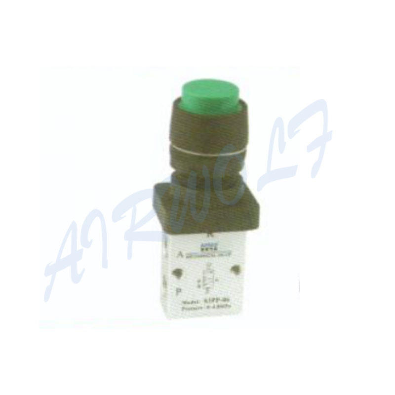 Airtac 3/2 way  Aluminum alloy Green PP protruding type NS3PP-M5 mechanical valve