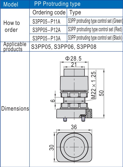 custom pneumatic push button valve check at discount-6