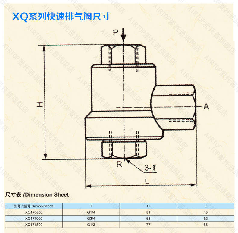 AIRWOLF pp pneumatic push pull valve custom bulk production-4