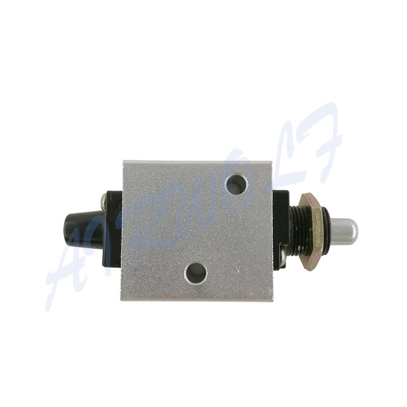 XQ Series XQ250410 XQ230410 1/8 Aluminium Alloy Plunger Type Mechanical Valve