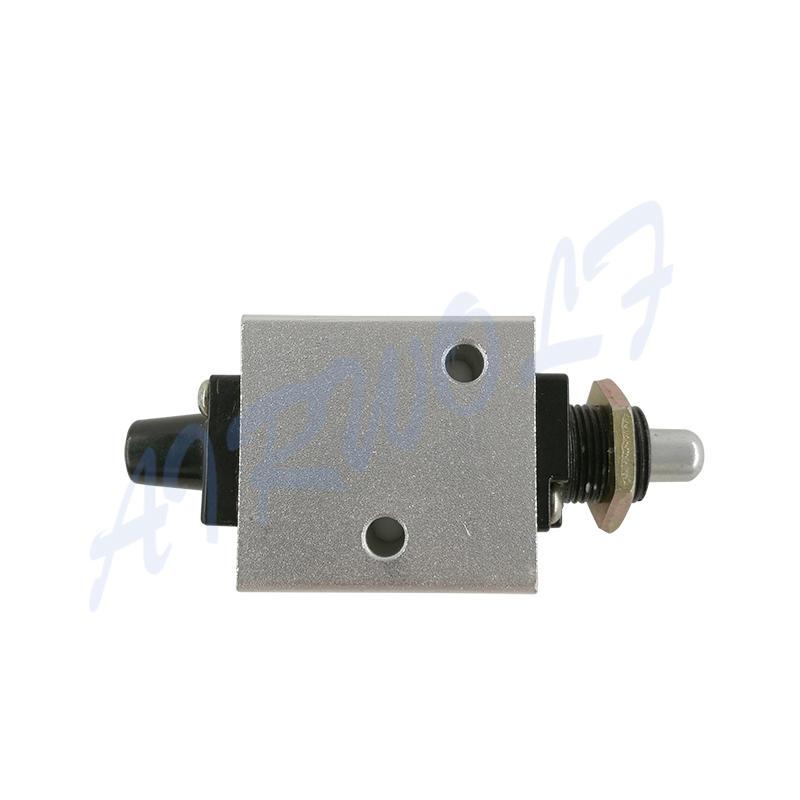 XQ Series XQ250410 XQ230410 1/8 Aluminium Alloy Plunger Type Mechanical Valve
