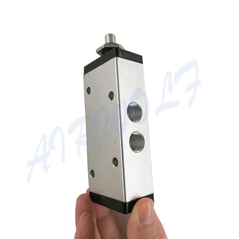 AIRWOLF pp push button pneumatic air valve position bulk production