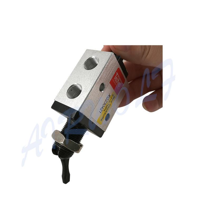 AIRWOLF manual pneumatic push button valve switching wholesale