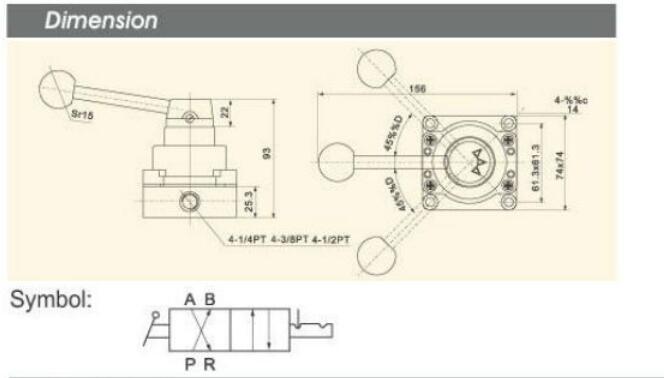 pp pneumatic manual control valve custom airtac wholesale-5