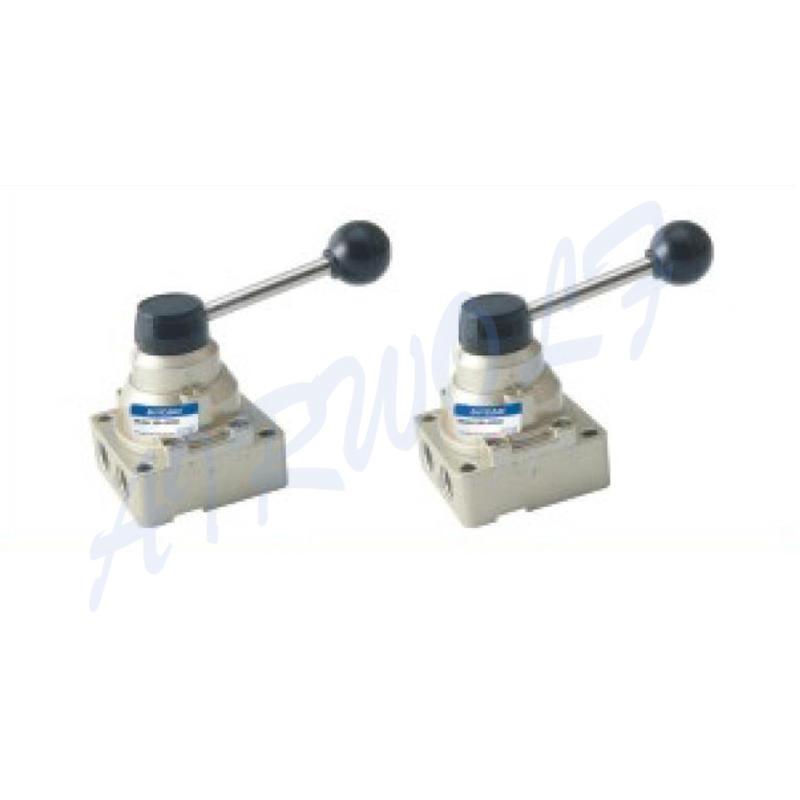 manual pneumatic manual control valve exhaust bulk production