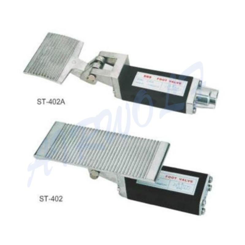 Foot Valve 3/8 Inch ST403 ST403A Aluminum Alloy Mechanical Valve