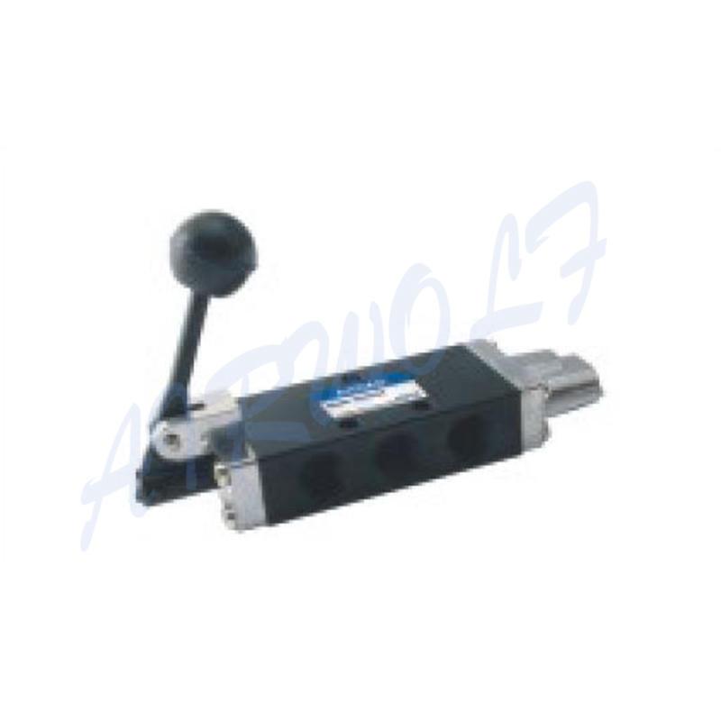 5 Port Hand Push Pull Valve SH402 SH402A SH403 SH403A Mechanical Valve