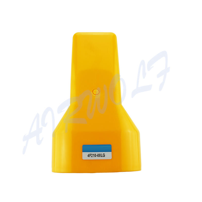Airtac Type Foot Valve With Plastic Protection Cover 4F210-08G 4F210-08LG Pedal Valve