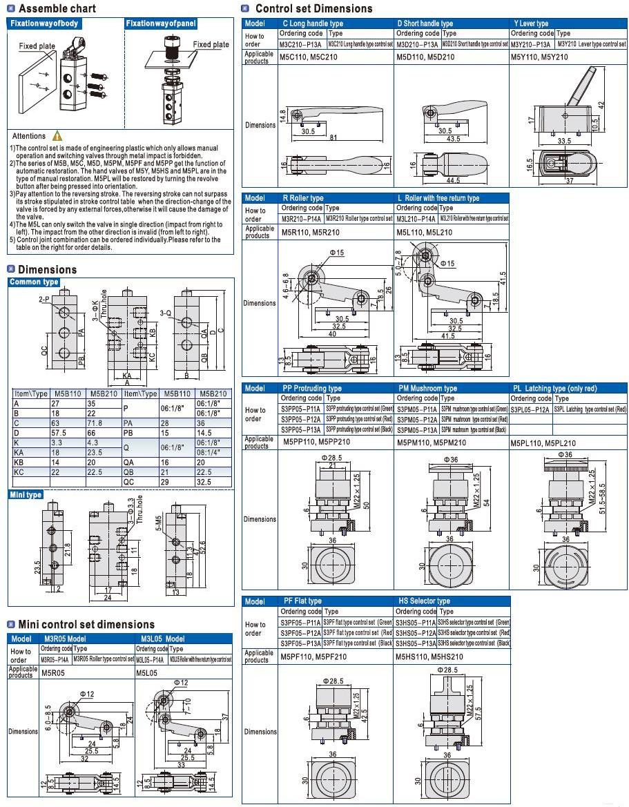 AIRWOLF cheapest price push button pneumatic air valve stroke bulk production-6