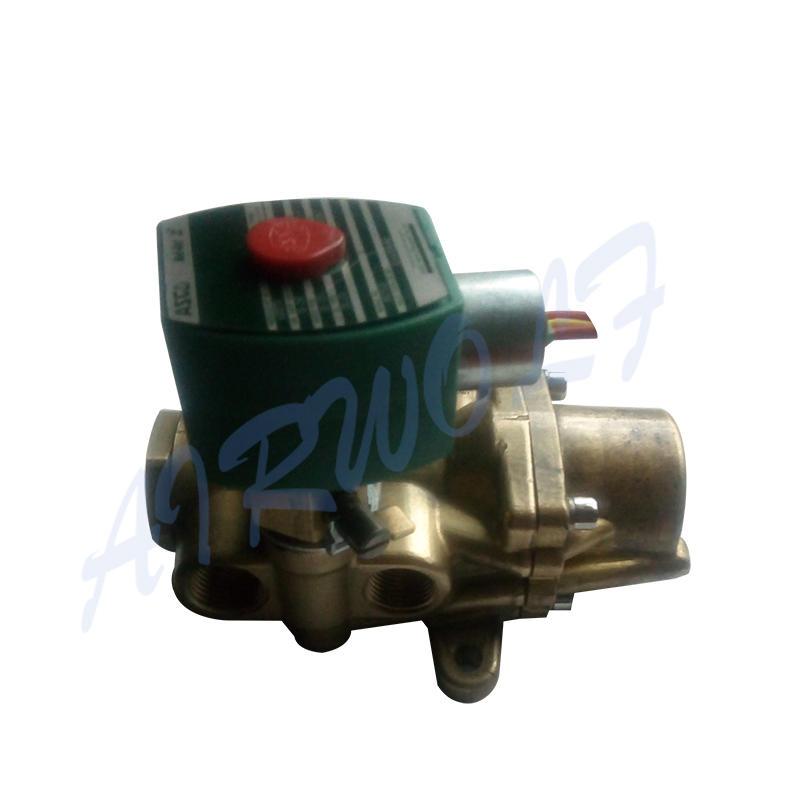 ASCO Type 8344G074MO Pneumatic Valve Brass 12V Solenoid Valve