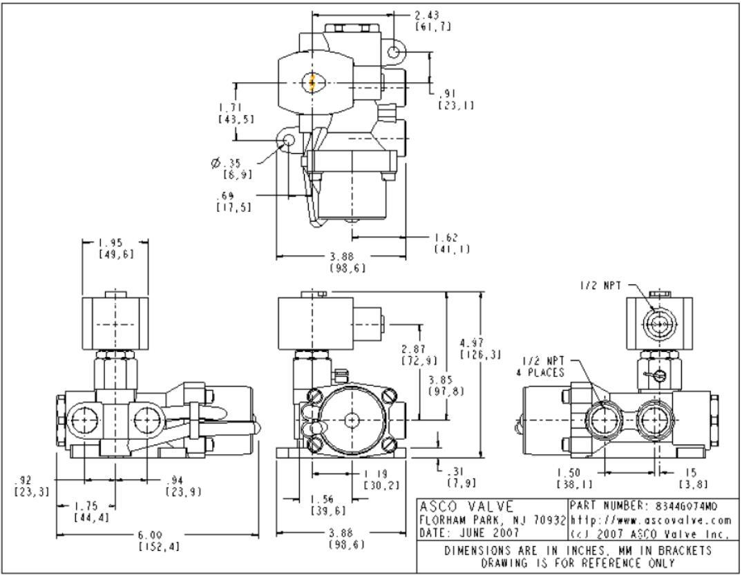 AIRWOLF on-sale solenoid valves direction system-4