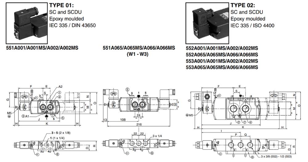 pneumatic solenoid valve on-sale switch control AIRWOLF-5