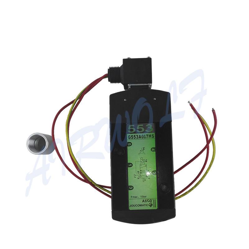 ASCO Type SCG553A017MS SCG553A018MS Black 1/2 Inch Solenoid Valve