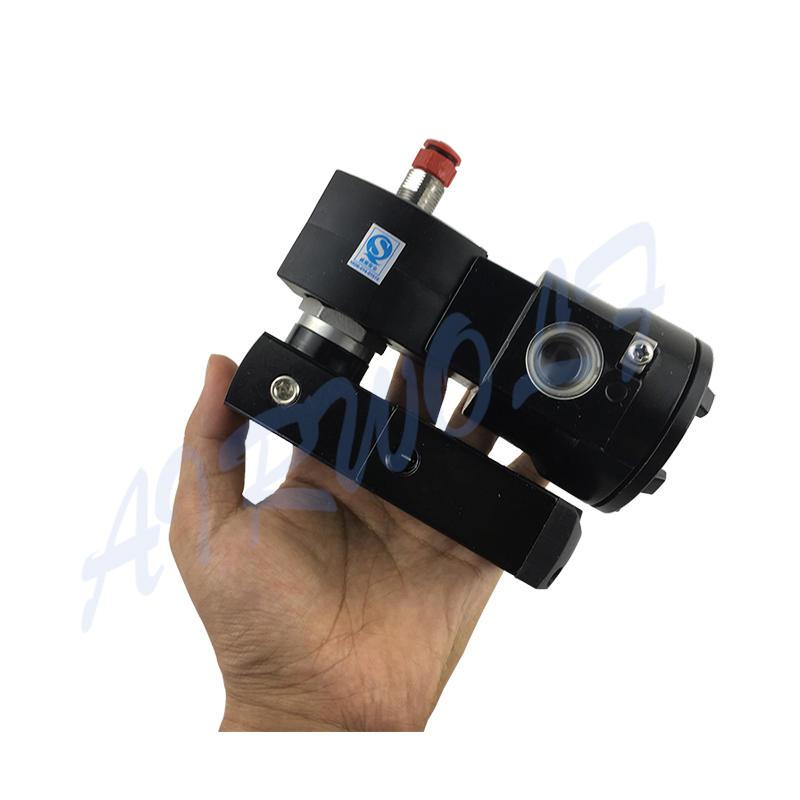 ASCO Type VCEFCM8551B401MO Black Anodized Watertight Solenoid Valve
