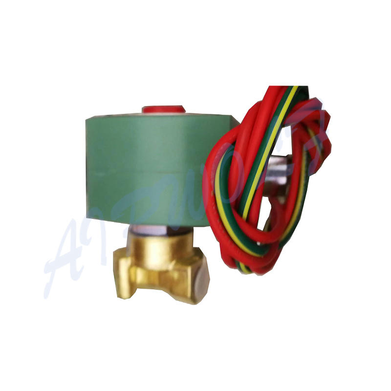Cryogenic And Liquid Solenoid Valve 8262H114LT 1/4 Inch T-Cock Valve