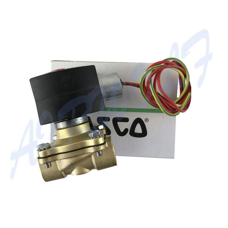 single solenoid valve high-quality single pilot for gas pipelines