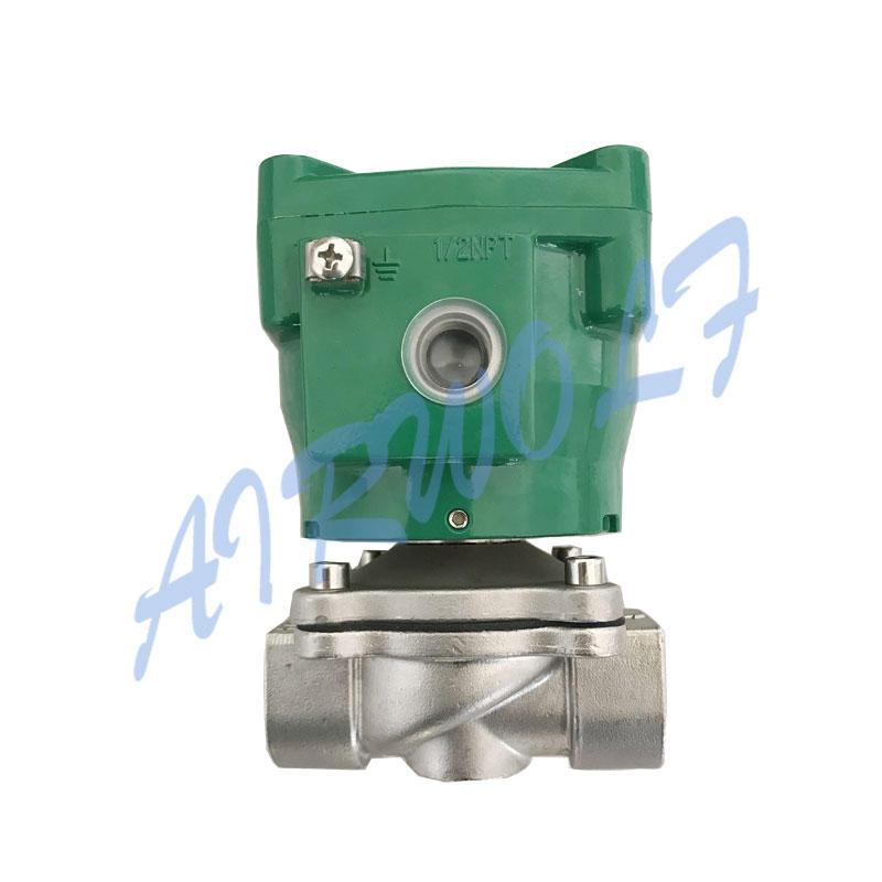 Case Flameproof Coil Solenoid Valve NFETG210D189 1/2 Inch