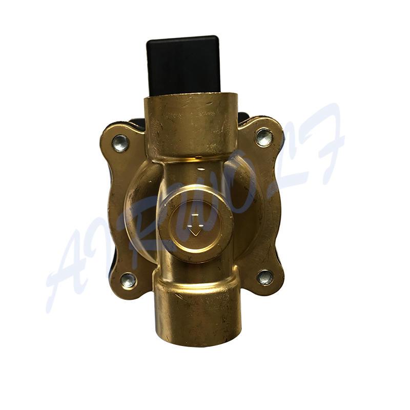 AIRWOLF hot-sale pneumatic solenoid valve single pilot water pipe