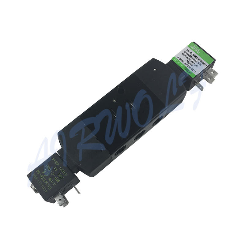 SCG531C017MS1 SCG531C002 Integrated Pilot Operated Spool Type Solenoid Valve