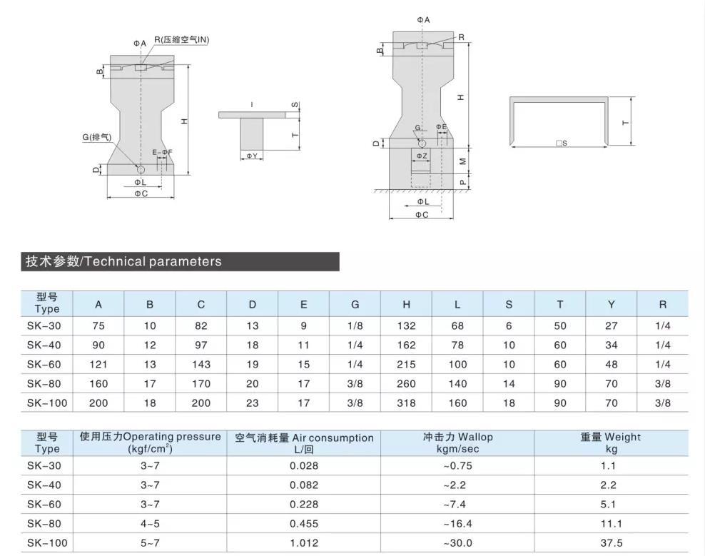 bvp pneumatic vibrator bvp for sale AIRWOLF-4