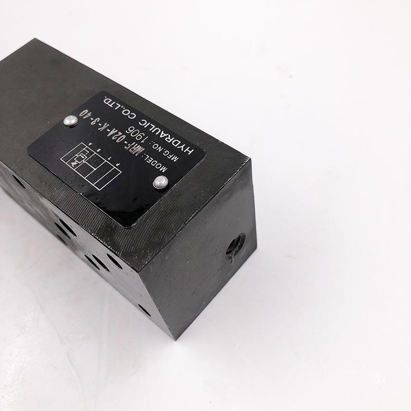 MRF-02A-K-3-40  Environment-friendly Pressure distribution valve hydraulic solenoid valve Hydraulic valve