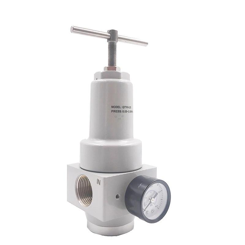 QTYH-25 1 inch pressure relief check valve Environment-friendly  air valve Pressure Relief Valve