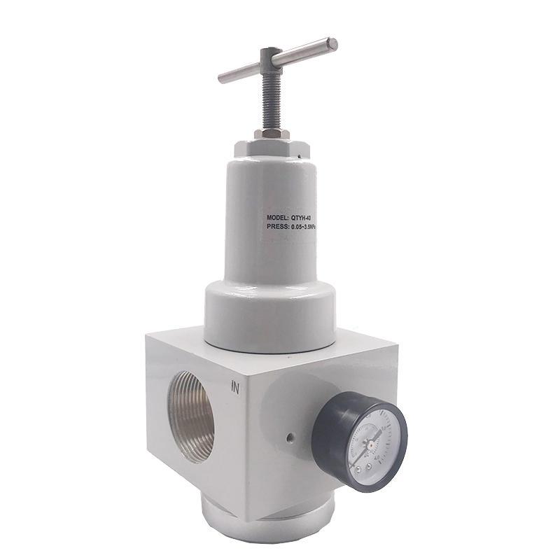 QTYH-40 3/2 inch  Electromagnetic pressure distribution valve Pressure Relief Valve Throttle element