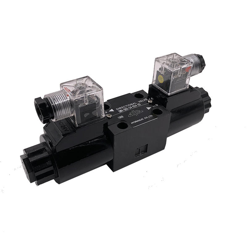 Oil valve   SWH-G02-D24-20 plate hydraulic check valve hydraulic solenoid valve