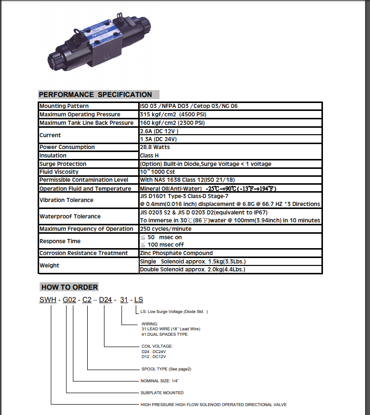 AIRWOLF ODM hydraulic directional control valve free delivery for gas opening-7