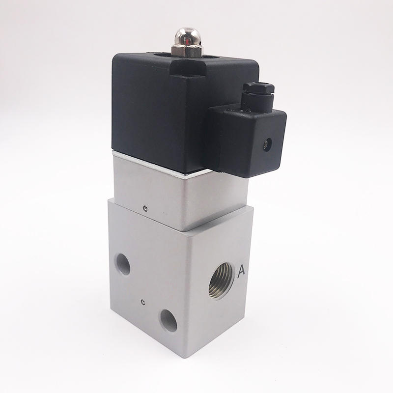 DC12V/24V FHD2315 1/2inch  Environment-friendly  air valve high pressure solenoid valve