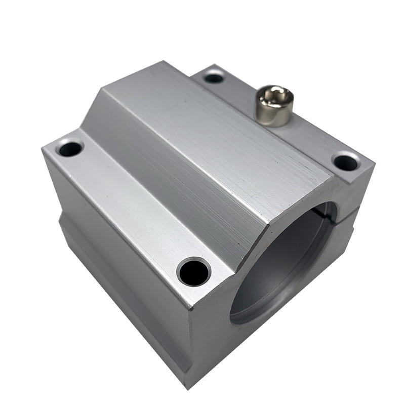 SCJ20UU  textile machinery  20 mm   Sealing at both end Interstitial type  unit  Linear Bearing Box Unit