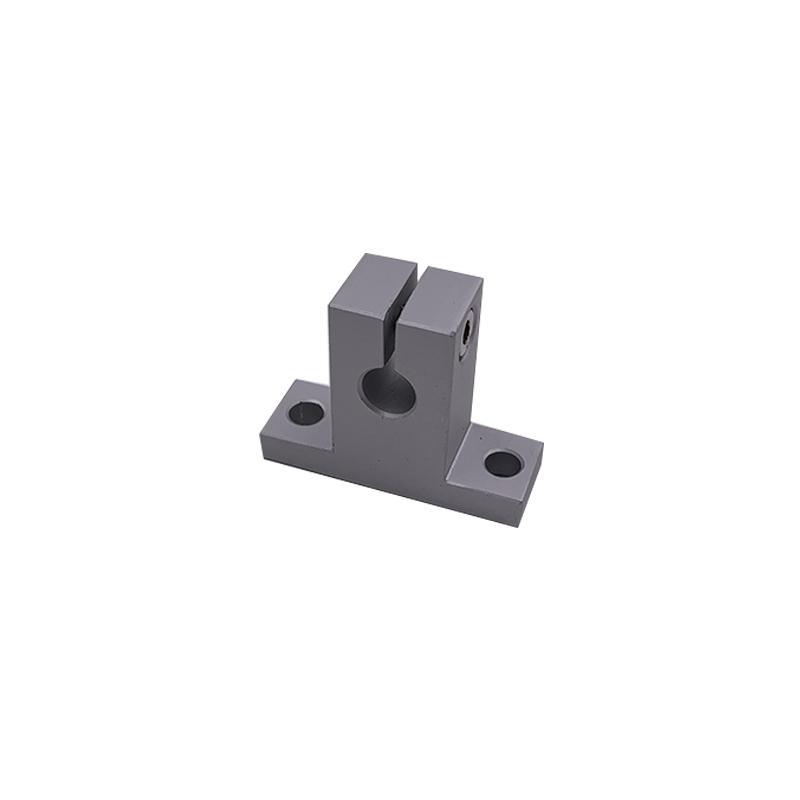 SK8   SK10/12/16/20/25/35/40 automation machinery   Linear Bearing Box Unit Flange 8MM Aluminium alloy  Axle bearing
