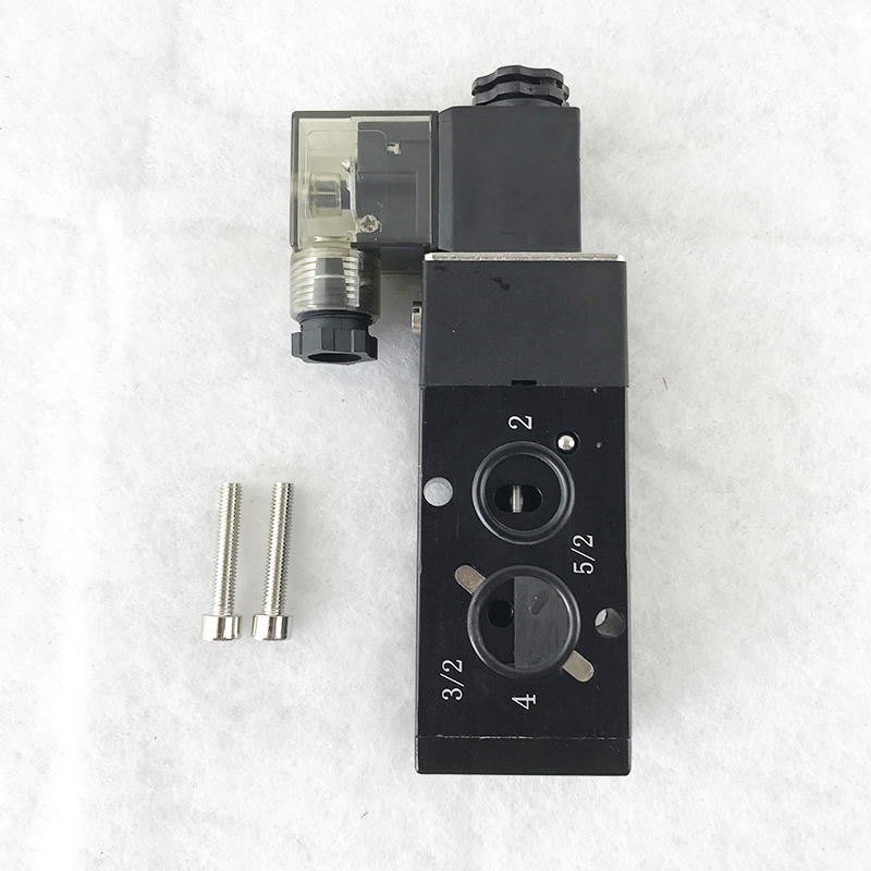 F5231-08M  AC220V   5/2way  pilot controlled  Normal closed type    Solenoid valve