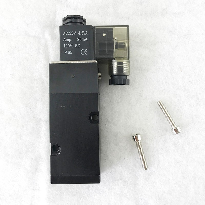 AIRWOLF single solenoid valve operated switch control-3