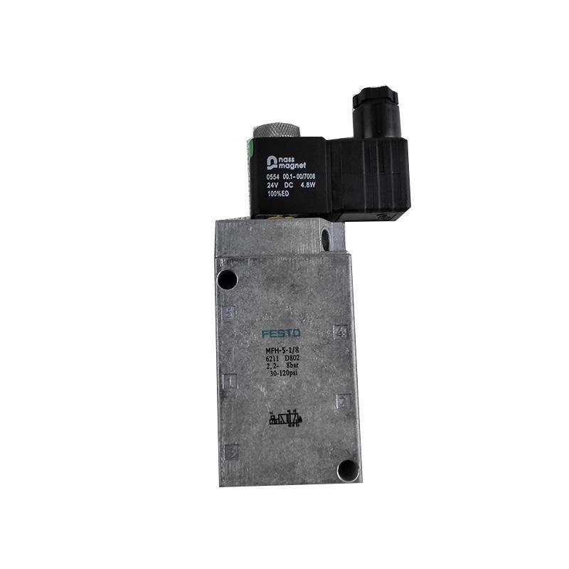 0550 /0554 Tiger Valve   pilot controlled   5/2way  Switch control MFH-5-1/4   Solenoid valve