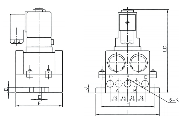 AIRWOLF high-quality solenoid valves operated switch control-4