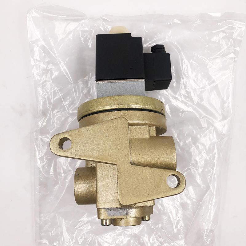 K25JD-08BW  air solenoid valve Shut-off valve For Non-corrosive Gases Solenoid valve