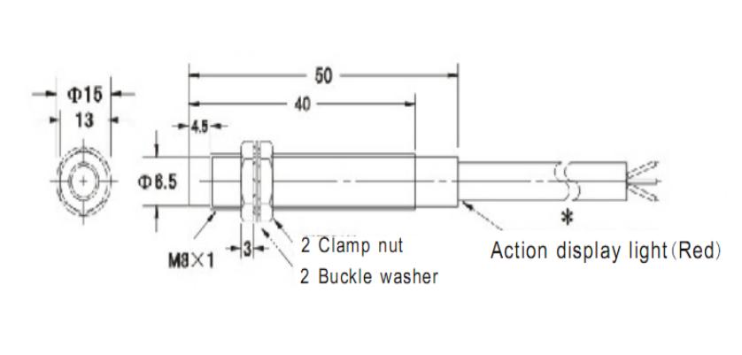 AIRWOLF magnetic proximity sensor hot-sale for wholesale