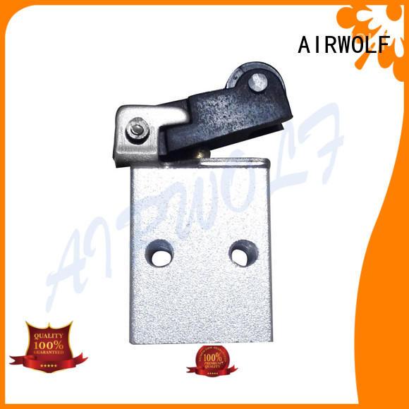 AIRWOLF black pneumatic manual control valve high quality at discount