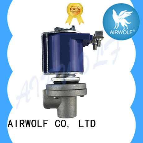 AIRWOLF electronic pulse valve operation norgren series air pack installation
